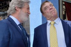 """Jeff Bridges turned out to honor John Goodman as his co-star from """"The Big Lebowski"""" was presented with a star on the Hollywood Walk of…"""