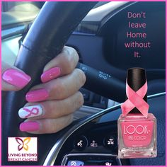 We care! This month we are donating a portion of each #026 Pink Shade sold to Living Beyond Breast Cancer.