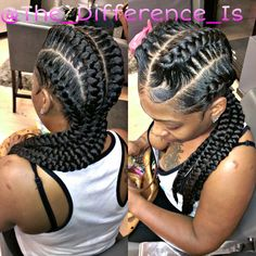 Another #GoddessBraid killed by the one and only #TheDifference this style has become one of the most requested looks of the summer! Get your's now exclusively at @thegimmie_salon The Difference Is... #thedifference #thedifferenceis #GimmieSalon #thegimmiesalon #atlhair #atlantahair #Atlhairsalon #goddessbraids #underbraids #braids (404)784-1420 ATL,GA