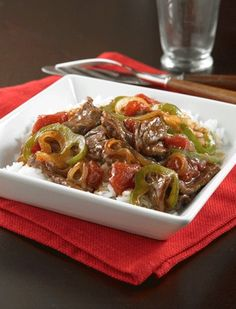 This savory Pepper Steak recipe is perfect for a quick and easy dinner – try it tonight!