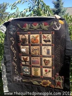 THE QUILTED PINEAPPLE: Primitive Gatherings Summer Freebie - Quilted