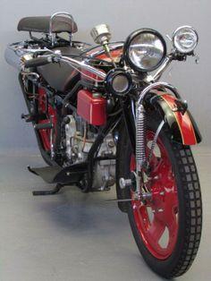 "vintage motorcycle: Böhmerland     1935   599 cc ohv single  ""Touring Model """