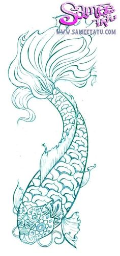 Koi tattoo ...for my birthday, yes please :)