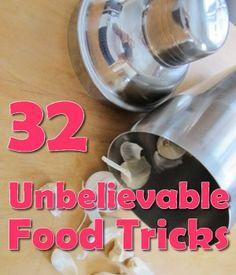 32 Unbelievable Food Tricks