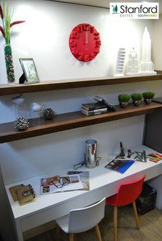 Multipurpose Furniture, Tagaytay, Wall Spaces, Condominium, Studying, Bookshelves, Modern Contemporary, Corner Desk, Display