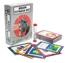 Brain Fitness Kit - Pump Up Your B-Spot!