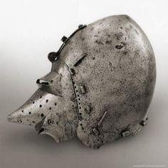 бацинет из королевскго арсенала Лидсе iv 467