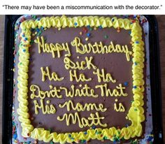 thedeathofmyredlizard: watchitfadeaway:lmao basically the cake I should receive this year (and every year)