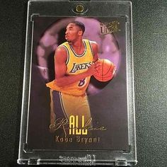 nice KOBE BRYANT 1996 FLEER ULTRA ALL-ROOKIE RC INSERT CARD LAKERS BLACK MAMBA - For Sale View more at http://shipperscentral.com/wp/product/kobe-bryant-1996-fleer-ultra-all-rookie-rc-insert-card-lakers-black-mamba-for-sale-2/