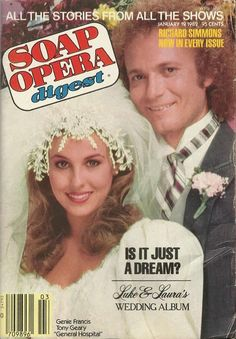 Genie Francis & Tony Geary (Laura & Luke #GH) 1/19/82 http://classicsodcovers.tumblr.com/  pic.twitter.com/pS1qPUHPJe