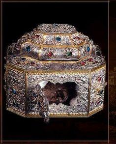 Holy Skull of St. John Chrysostom, treasured by the Holy Monastery of Vatopedi on Mount Athos