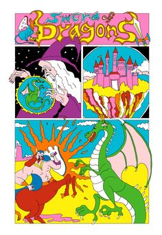 """wakana yamazaki — Comic   """"Sword of Dragons"""""""