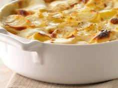 La ricetta delle patate al gratin con formaggio