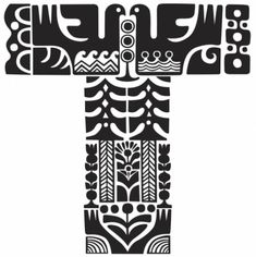 sanna annukka illustration inspired by the kalevala Finland Scandinavian Pattern, Scandinavian Folk Art, American Indian Art, Art Graphique, Letters And Numbers, Bird Art, Marimekko, Hand Lettering, Pattern Design