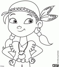 Pirate+Ship+Coloring+Pages+Printable | ... coloring book, Jake and the Never Land Pirates printable color pages