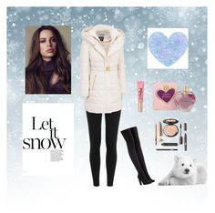 """baby its cold outside"" by bellaclairecassedemont ❤ liked on Polyvore featuring Polo Ralph Lauren, Kensie, adidas Originals, Vera Wang and Too Faced Cosmetics"