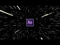 Easy Hyperdrive Space Jump Effect Tutorial | After Effects - YouTube