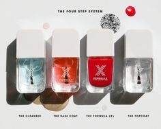 "Sephora's Formula X ""The System"" My new favorite polish. Hands down. Paint that lasts 6+ days!!"