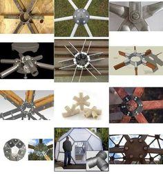 ejemplos uniones domos