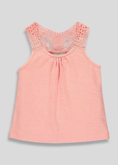Girls Coral Vest (3-13yrs) View 1