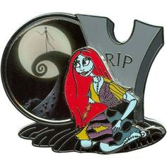 Your WDW Store - Disney Nightmare Before Christmas Pin - Sally with Spiral Hill