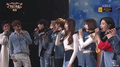 161229 KBS 가요대축제 방탄소년단 정국 - 나는 나비