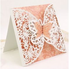 Diesire Create-a-Card Metal Die - Butterfly Garden - Decorative Dies - Die'Sire - Dies - Card & PaperCraft
