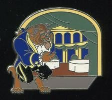 WDW New Fantasyland Beauty and the Beast Mystery Be Our Guest Disney Pin 94084