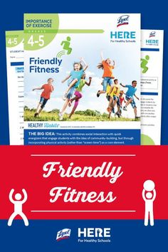 Friendly Fitness—In this Grade 4-5 lesson, students will choose one activity—a nature walk, a trip to a bowling alley, a yoga DVD, walking a dog—to do with someone at home and conduct an interview with them at the end. #fourthgrade #fifthgrade #lessonplan #outdoorlearning #activities #activitiesforkids #health #teaching Student Learning, Teaching Kids, Learning Activities, Activities For Kids, Healthy Schools, Outdoor Learning, Fifth Grade, Student Engagement, Walking In Nature