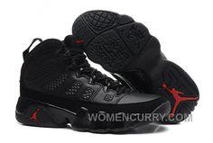 online retailer 56a93 00ab3 2017 Girls Air Jordan 9 Black Dark Charcoal-Varsity Red For Sale Christmas  Deals KeNJ64