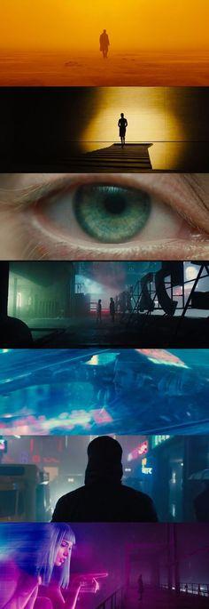 Blade Runner 2049 d. Denis Villeneuve, d. Roger Deakins - adel home Cinematic Photography, Film Photography, Cyberpunk, Film Composition, Denis Villeneuve, Blade Runner 2049, Best Cinematography, Movie Shots, Cult