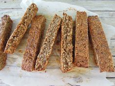 Healthy Desserts, Healthy Food, Healthy Recipes, Granola Bars, Good Mood, Biscotti, Tasty, Diet, Cooking