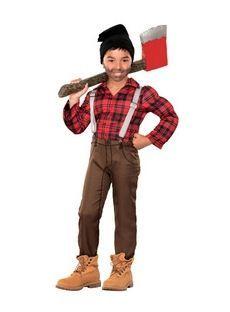 déguisement bucheron canadien, canadian lumberman