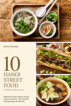 My all-time favorite way to explore a culture is to start with its cuisine. And I dare to say Hanoi street food is among the best of the best! Vietnamese Cuisine, Vietnamese Recipes, Asian Recipes, Sweet Recipes, Ethnic Recipes, Banh Cuon Recipe, Time Out Magazine, Vietnam Travel, Hanoi