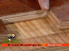 Refinish floors without sanding ...