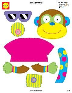 Build a Monkey free printable