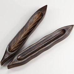 Wood Leaf Incense Burner Set of 2 by World Market