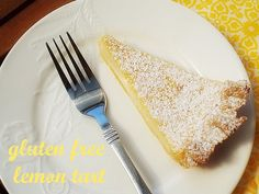 I almost wanted to call this tart – 'you won't believe it's gluten free lemon tart'. It is so good. So...