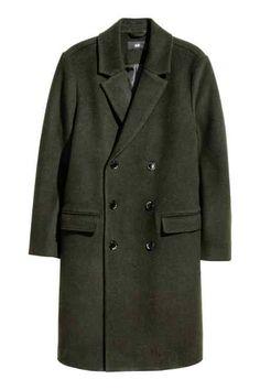 Mantel van wolmix