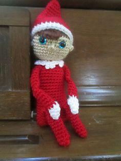 Christmas Elf: free crochet pattern