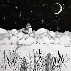 Amazing art by Henn Kim {http://bit.ly/1O10Fa9}