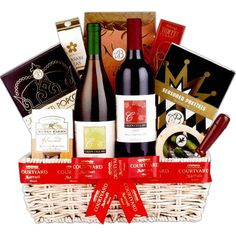 California Wine Selection Gift Basket 10275 From Print Ez The Gift Planner  C2 B7 Corporate Christmas Gift Ideas