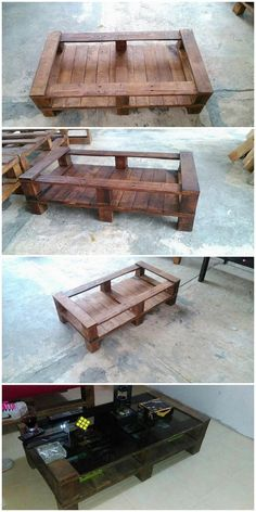 Let's bring home the mind-blowing idea of the wood pallet stylish coffee table for you which you can suitably avail in order to put it up as the coffee serving for your house. It would be perfect enough to set it with the finishing of the glass topping on top of it that will look so incredible.