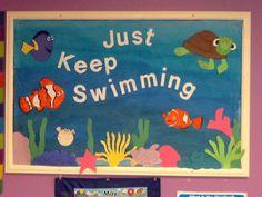 A Nemo inspired bulletin board
