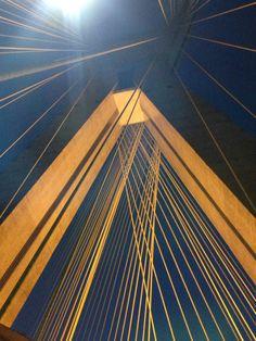os ângulos da ponte .....