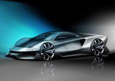 Car Design Sketch, Car Sketch, Ferrari, Maserati, Batman Car, Automotive Design, Auto Design, Mexico 2018, Gone In 60 Seconds