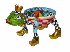 Toms Drag Schaaltje kikker - Frog bowl