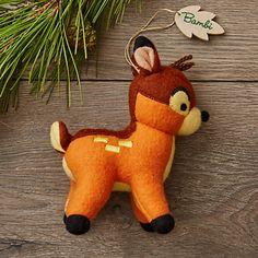 Bambi Disney Parks Storybook Plush Ornament