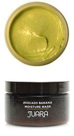Juara Moisture Mask-Avocado Banana-4 oz by Juara. Save 15 Off!. $31.48. This ultra rich, creamy leave-on mask provides the skin with an intense dose of moisture for a softer, healthier complexion.. Use 1-2 times weekly or whenever skin needs an extra dose of moisture.. Fragrance-free. Paraben free. Suitable for all skin types in need of extra moisture.. pply liberally over cleansed face, sparing eye and mouth area. Leave on for 10-15 minutes. Remoisten face and wipe off excess with damp…