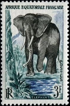 French Equatorial Africa stamp, 1957